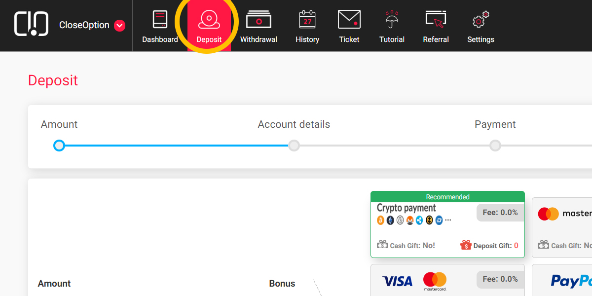 How-to-deposit