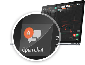 Online Chat in Trade Room