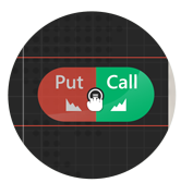 Draggable buttons